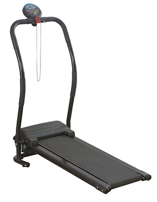 Body Fit Folding Electric Treadmill