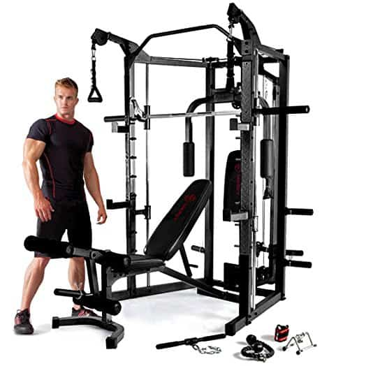 Marcy Eclipse Deluxe Smith Machine Gym