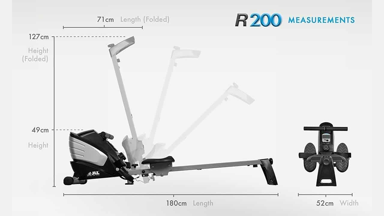 JLL R200 Home Rowing Machine