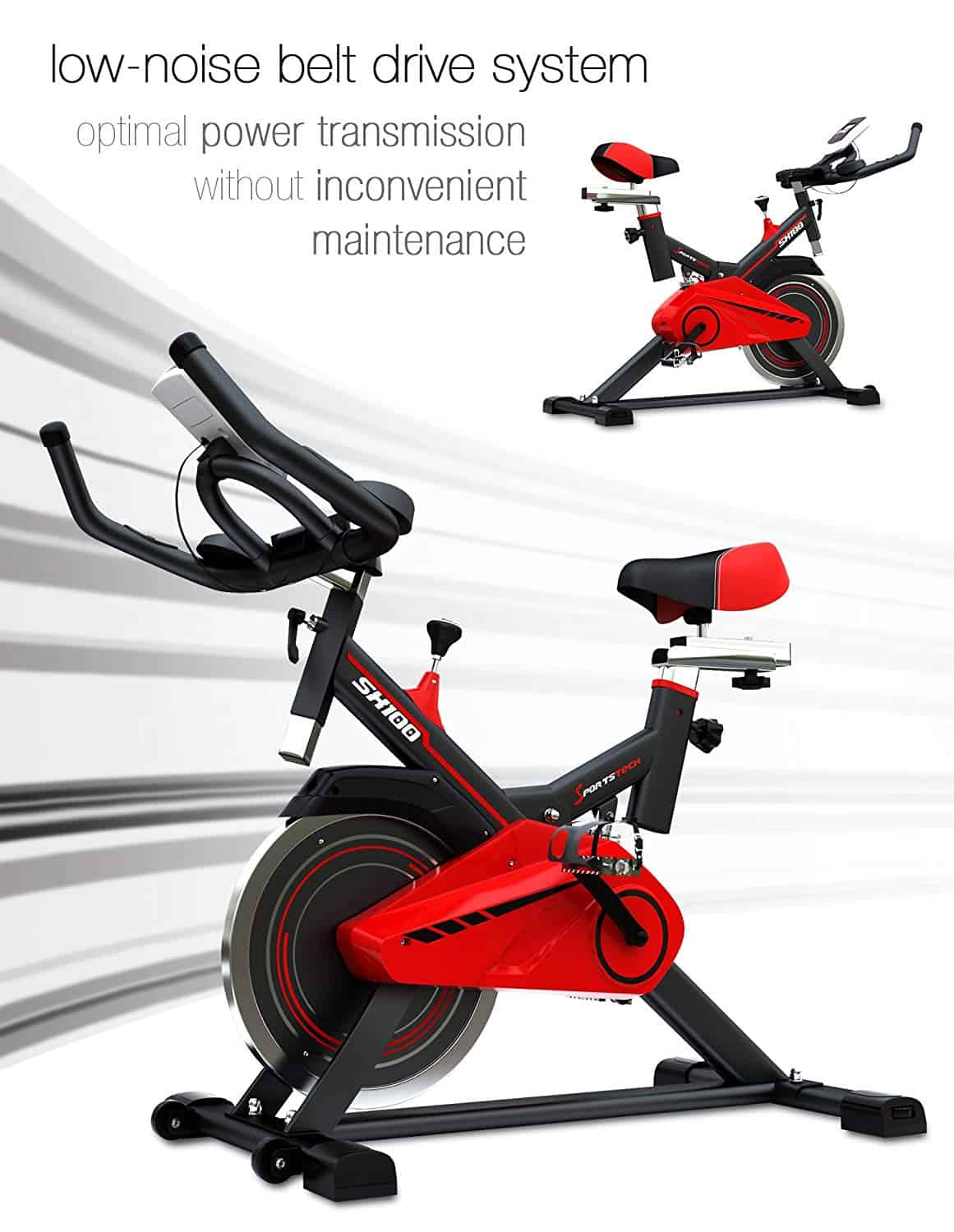 sportstech professional indoor cycle sx100