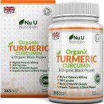 nu nutrition organic turmeric curcumin