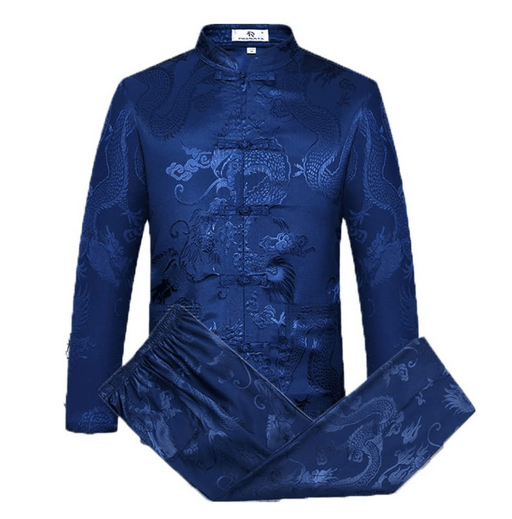 Airuiby Tang Suit Men Traditional Chinese Clothing