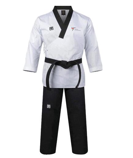 Mooto Korea Taekwondo Poomsae Uniform WT Logo Taebek Dan Uniforms MMA
