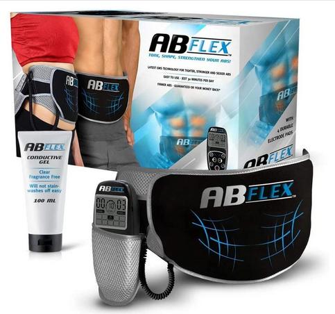 ABFLEX Ab Toning Belt Slender Toned Stomach Muscles