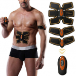 Charminer Muscle Toner Abs Trainer EMS Muscle Stimulator