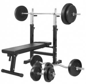 Gorilla Sports Weight Bench 100KG