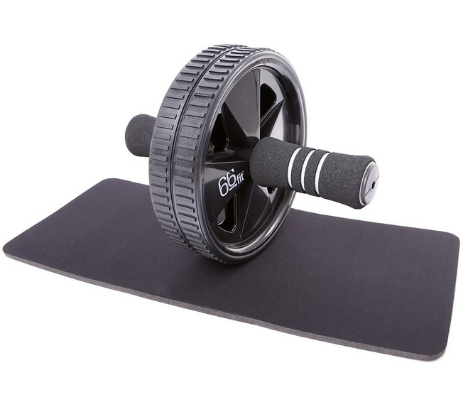 66fit Ab Roller Wheel & Knee Pad