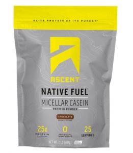 Ascent Native Fuel Micellar Casein Protein Powder