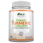 Nu U Nutrition Organic Turmeric Curcumin