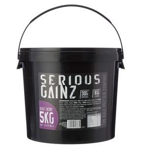 The Bulk Protein Company - SERIOUS GAINZ Whey Protein Powder
