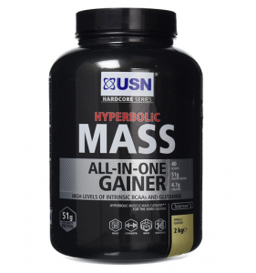 USN Hyperbolic Mass All-In-One Gainer Shake Powder