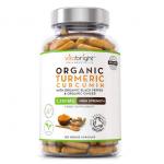 VitaBright Organic Turmeric Curcumin Capsules