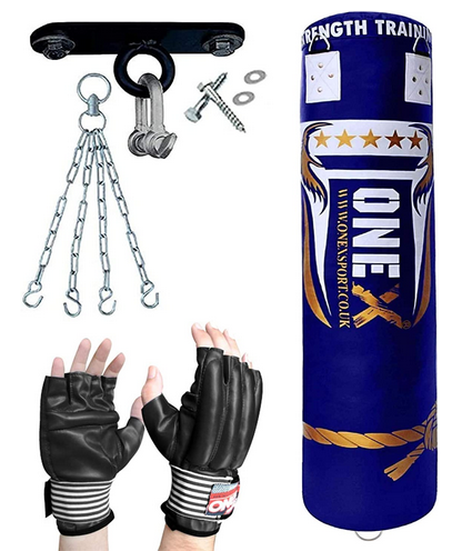 ONEX 4FT Heavy Filled Boxing Punch Bag