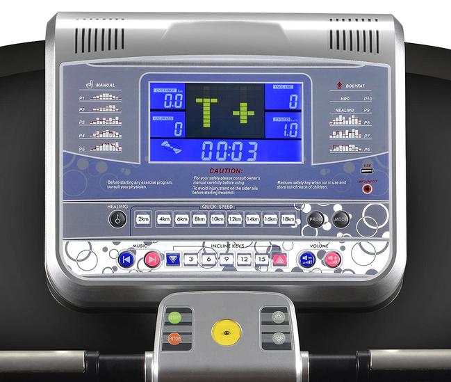 Sportstech F65 Treadmill Display