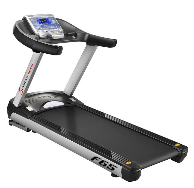 Sportstech F65 Treadmill Side View