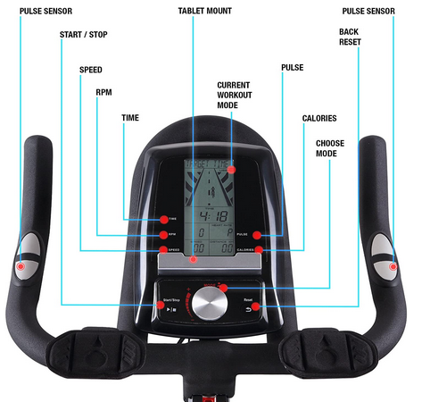 Exercise Bike SX500 Display