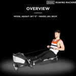 JLL R200 Home Rowing Machine Review