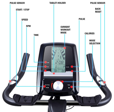 Sportstech Bike SX200 Display