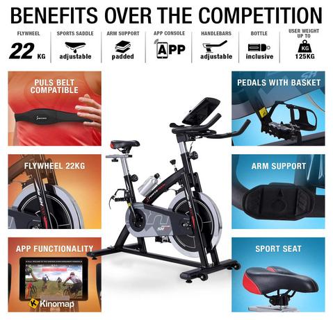 Sportstech Bike SX200 Features Benefits