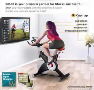 Sportstech Exercise Bike SX500 Viewing Screen